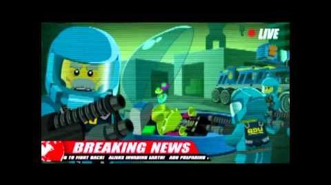 2011 LEGO Alien Conquest Webvideos 1 - 4