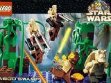 928175 Postcard - Star Wars Set 7121 Naboo Swamp