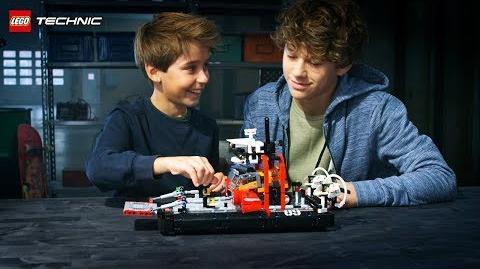 Hovercraft - LEGO Technic - 42076