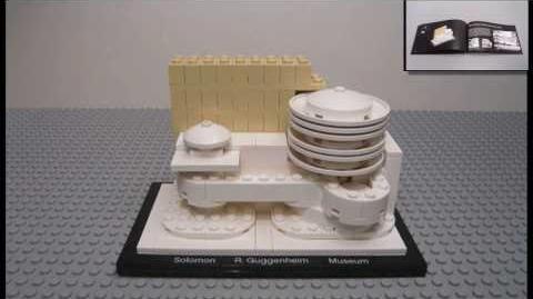 LEGO Architecture Set 21004 Solomon R. Guggenheim Museum - Stop Motion HD 720p