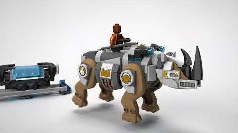 Rhino Face-Off by the Mine - LEGO Marvel Superheroes - 76099 Product Feature