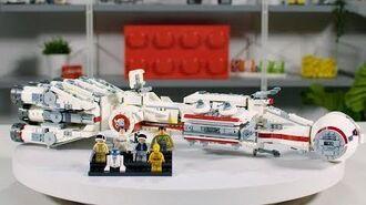 LEGO Star Wars Tantive IV Designer Video Review & Interview 75244