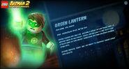 Green Lantern LB2 stats