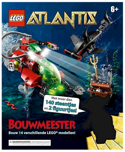 LEGO Bouwmeester Atlantis box detail