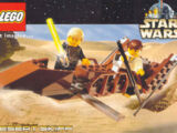 4323349 Postcard - Star Wars Set 7104 Desert Skiff
