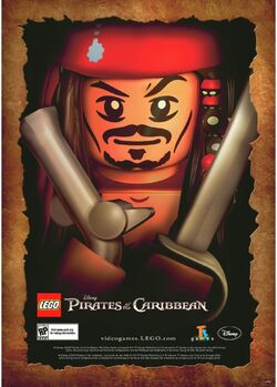 4644160 LEGO POTC The Video Game Poster