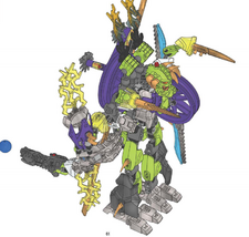 Stormer and Speeda Demon Combiner Model handleiding
