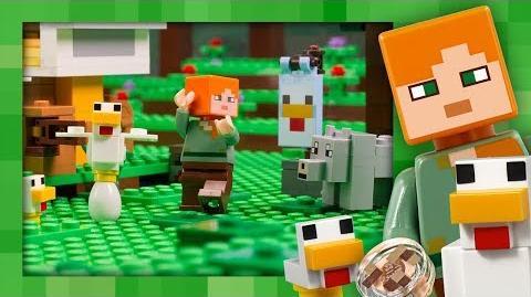 Chicken Coop - LEGO Minecraft - 21140 - Stop Motion
