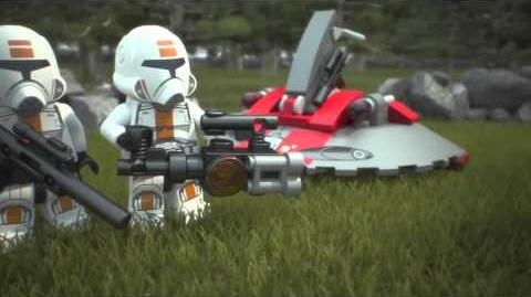 LEGO Star Wars Republic Troopers vs Sith Troopers 75001 - tv spot - tv werbung
