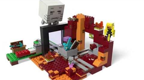 The Nether Portal - LEGO Minecraft - 21143 - Product Animation