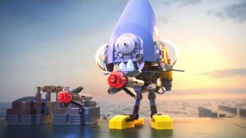 Attack of the Piranha Walker - The LEGO NINJAGO MOVIE - 70629 Product Animation