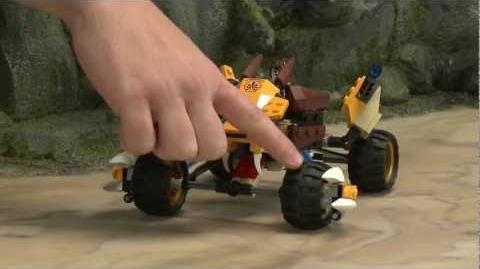 LEGO® Legends of Chima - Lennox's Lion Attack 70002