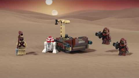 Tatooine Battle Pack - LEGO Star Wars- 75198 Product Animation