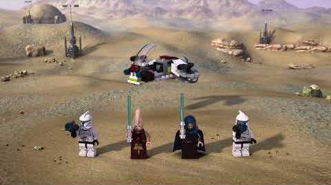LEGO® STAR WARS™ - Боевой набор джедаев и клонов-пехотинцев