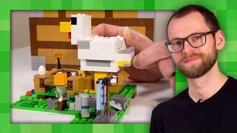 Chicken Coop - LEGO Minecraft - 21140 - Designer Video