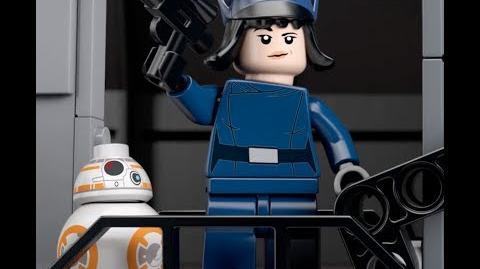 First Order AT-ST - LEGO Star Wars - 75201 Product Animation