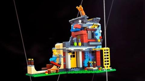 Modular Skate House - LEGO Creator 3in1 - 31081 - Product Animation