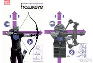 Hawkeye Issue 2 in Lego