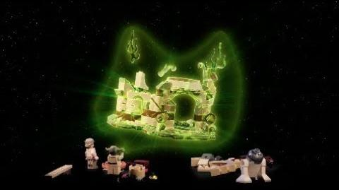 Yoda's Hut - LEGO STAR WARS - 75208 Inboxing