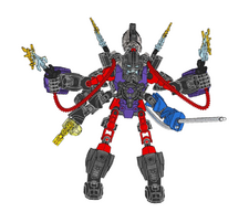 Stringer and Voltix Combiner Model handleiding