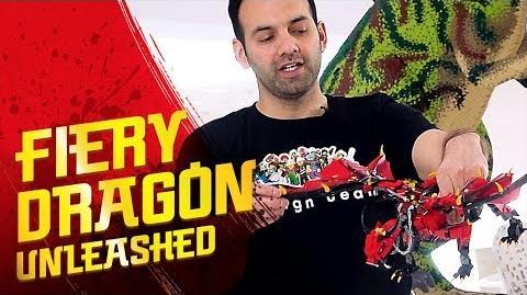 Fire dragon in the sky - Firstbourne – LEGO NINJAGO – 70653 Designer Video