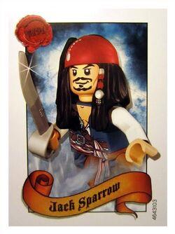 4643103 Jack Sparrow ruilkaart