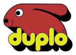 DUPLO logo 1979 rood