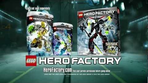 LEGO Hero Factory - Rocka vs Black Phantom Advert HD