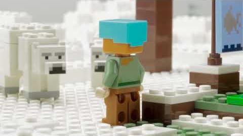 The Polar Igloo - LEGO Minecraft - 21142 Stop Motion