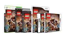 LEGO PotC The Video Game boxes