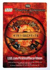 4643103 Jack Sparrow ruilkaart code
