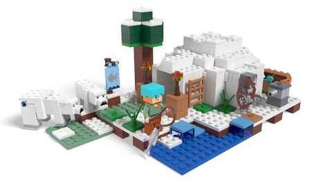The Polar Igloo - LEGO Minecraft - 21142 - Product Animation