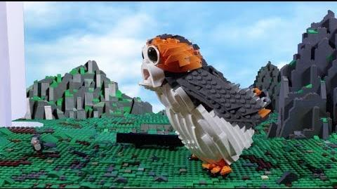 Porg - LEGO STAR WARS - 75230 Inboxing