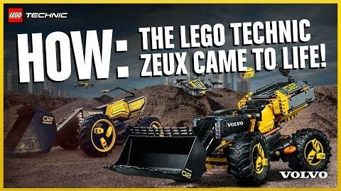 The story behind the LEGO Technic Volvo Concept Wheel Loader ZEUX (42081)