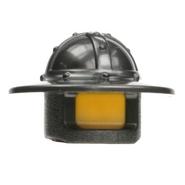 Helm 30273 (Castle,brede rand) grijs parel donker