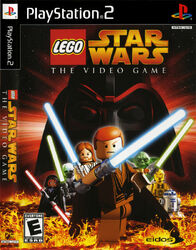LEGO Star Wars The Video Game box PlayStation2