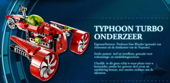 Typhoon Turbo Onderzeer