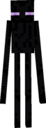 Front view of Enderman