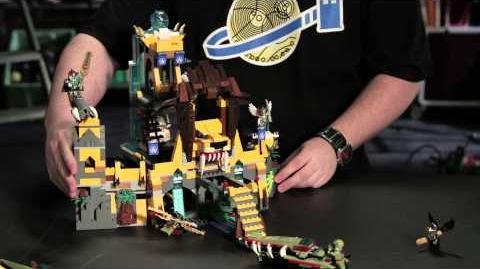 LEGO® CHIMA™ - Designer Movies Lion Chi Temple