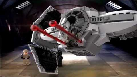 LEGO Star Wars 75082 TIE Advanced Prototype 3D LEGO Review