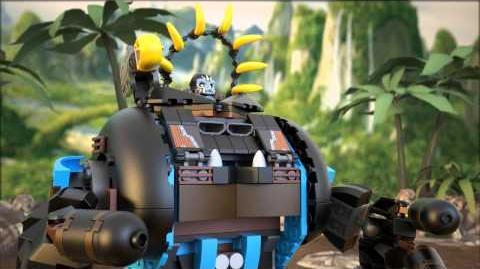 Lego Chima 70008 Gorzans Gorilla Striker Lego 3D Review