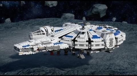 Kessel Run Millennium Falcon - LEGO STAR WARS - 75212 Product Animation