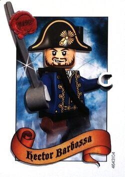 4643104 Hector Barbossa ruilkaart