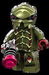 Alien cockroach green