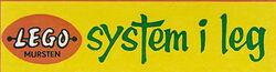 LEGO logo System i Leg