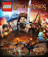 LEGO The Lord of the Rings The Video Game Poster 1