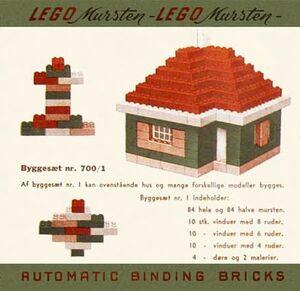 700'1-1 Catalogus 1950 DK