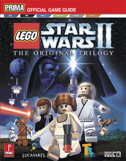 LEGO Star Wars II The Original Trilogy Prima Guide detail 2