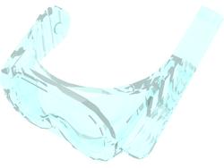 Duikbril 30090 lichtblauw