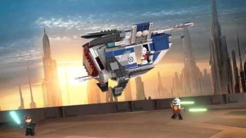LEGO Star Wars 75046 Coruscant Police Gunship LEGO 3D Review